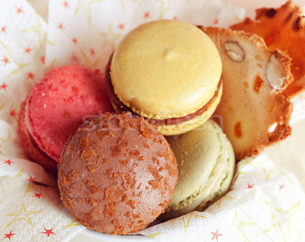 Yummy Macaroon Stock photo © fatalsweets