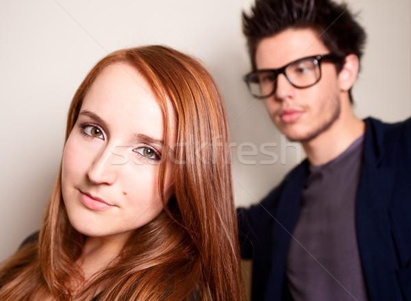Fiatal szerelmespár kettő Stock fotó © fatalsweets