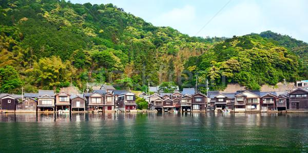 釣り 村 京 2012 夏 時間 ストックフォト © fatalsweets