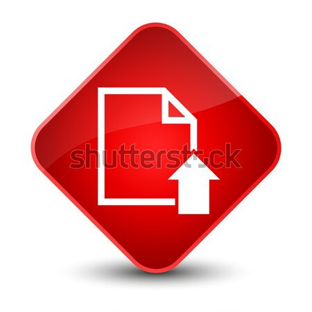 アップロード 矢印 アイコン ブラウン ボタン ストックフォト © faysalfarhan