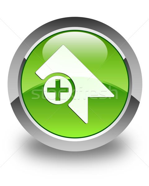 ブックマーク アイコン 緑 ボタン ビジネス ストックフォト © faysalfarhan