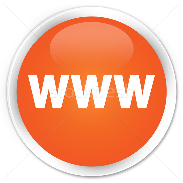 Www Symbol orange Taste Welt Technologie Stock foto © faysalfarhan