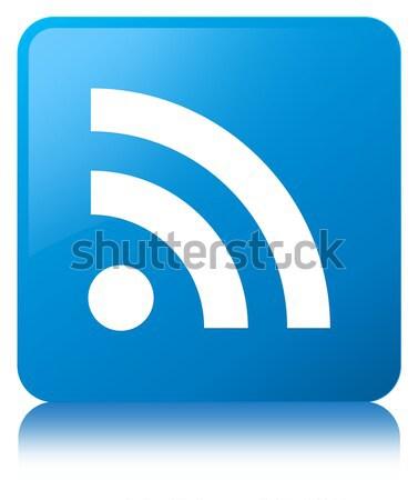 Zdjęcia stock: Rss · pomarańczowy · placu · przycisk · Internetu