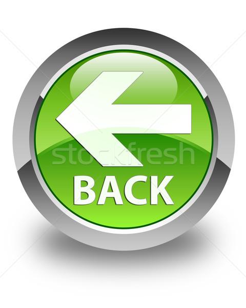 Geri parlak yeşil düğme imzalamak beyaz Stok fotoğraf © faysalfarhan