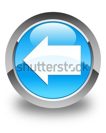 Next arrow icon glossy black round button Stock photo © faysalfarhan