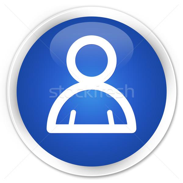 Member icon blue button Stock photo © faysalfarhan