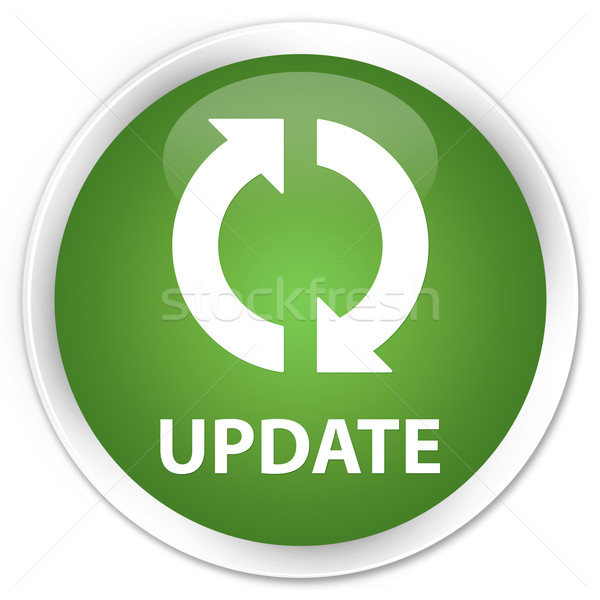 Update icon green button Stock photo © faysalfarhan