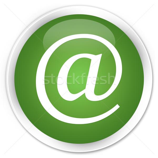 Email address icon green button Stock photo © faysalfarhan