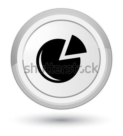 Frissít nyíl ikon fényes fekete gomb Stock fotó © faysalfarhan