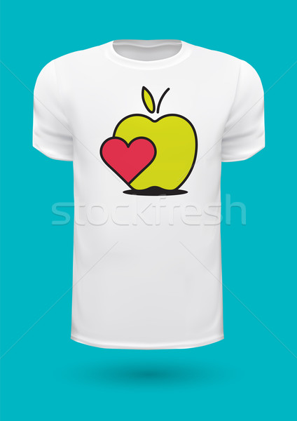 Vector graphic t-shirt design / Print design Stock photo © feabornset