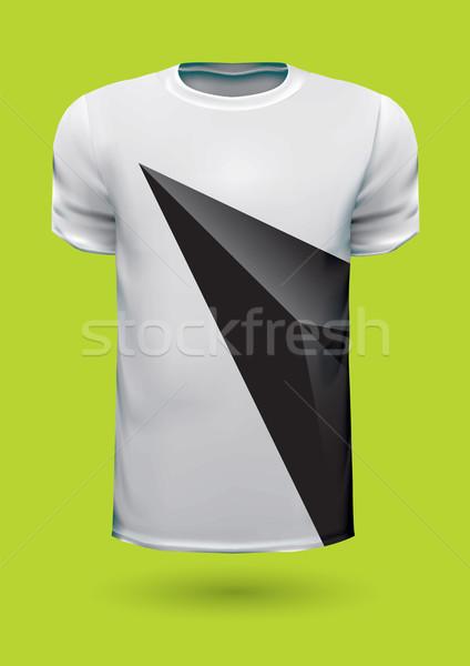 Vecteur graphique tshirt design imprimer idée Photo stock © feabornset