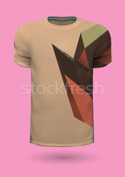 Wektora graficzne tshirt projektu wydruku pomysł Zdjęcia stock © feabornset