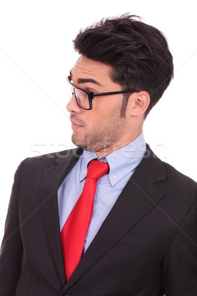 amazed young business man Stock photo © feedough