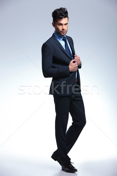 business man posing in demi profile Stock photo © feedough