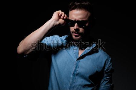 Model elleboog knie Stockfoto © feedough