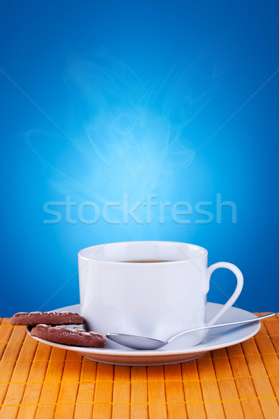 coffee and cookies Stock photo © feedough