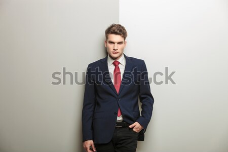 Smart casual man smiling at the camera Stock photo © feedough