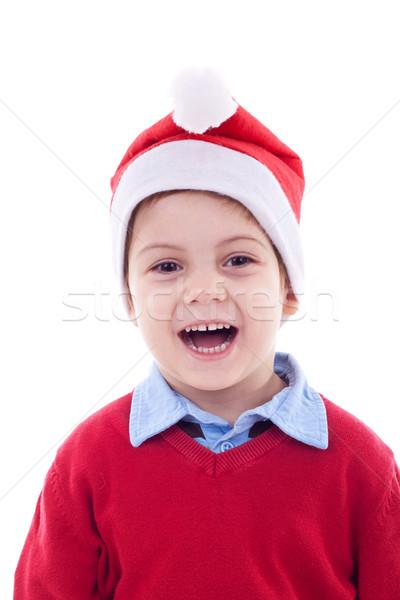amazed christmas child  Stock photo © feedough
