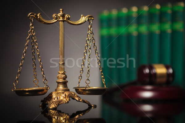 concept of fair law and justice Stock photo © feedough