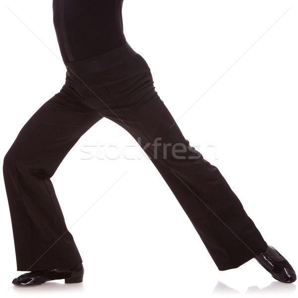 cutout picture of a male salsa dancer Stock photo © feedough