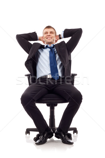 Relaxed businessman Stock photo © feedough