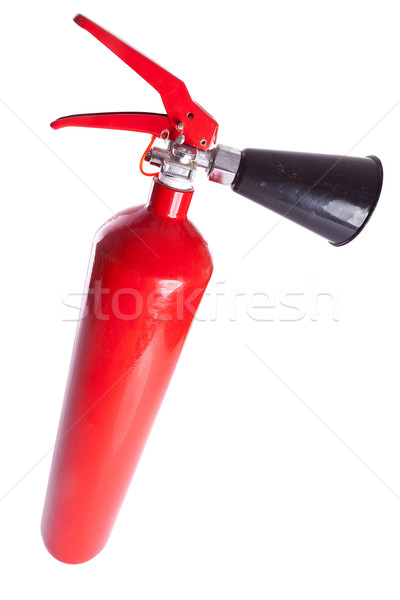 above picture of a long fire extinguisher Stock photo © feedough