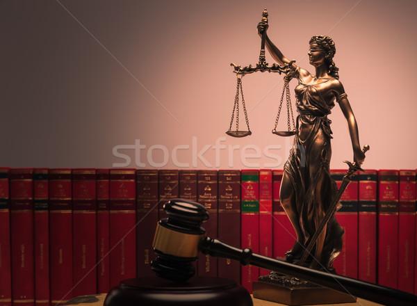 law symbols Stock photo © feedough