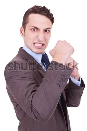 angry business man Stock photo © feedough