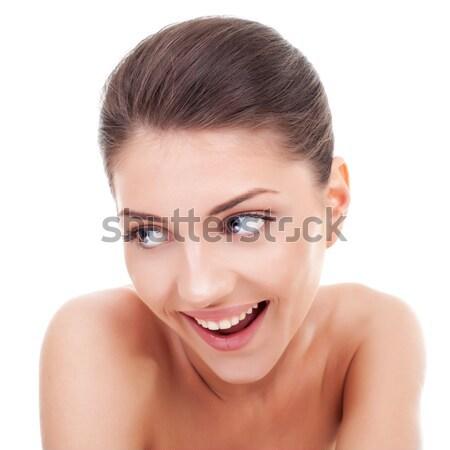 young woman looking away Stock photo © feedough