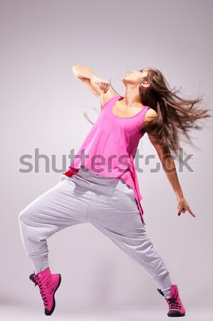 young sporty woman looking forward  Stock photo © feedough