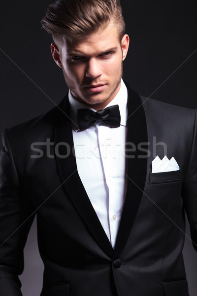 カットアウト ビジネスマン 着用 タキシード 肖像 エレガントな ストックフォト © feedough