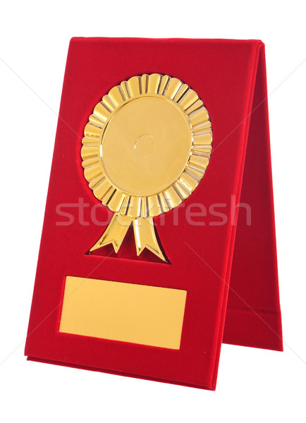 golden award with blank space for your text  Stock photo © feedough