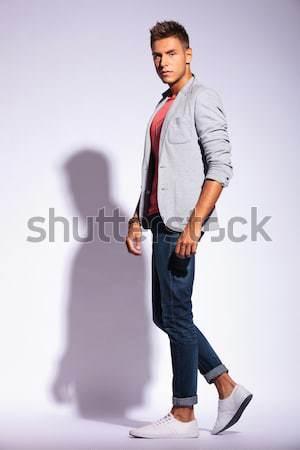 man posing sideways Stock photo © feedough