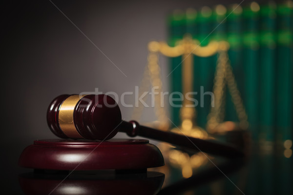 authority of the legal system concept Stock photo © feedough