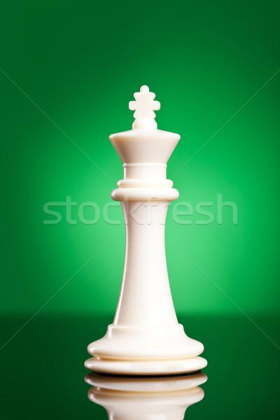 белый царя зеленый фото шахматам Сток-фото © feedough
