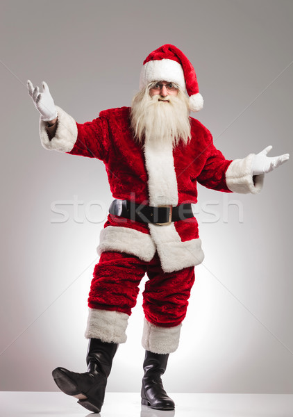 santa claus welcoming Stock photo © feedough