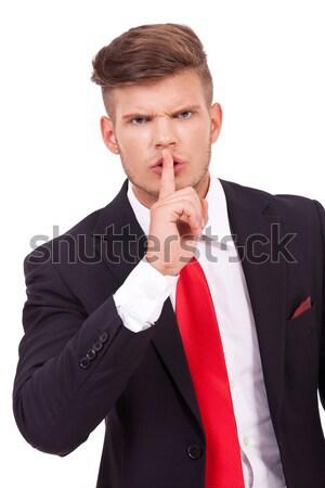 business man silencing you Stock photo © feedough