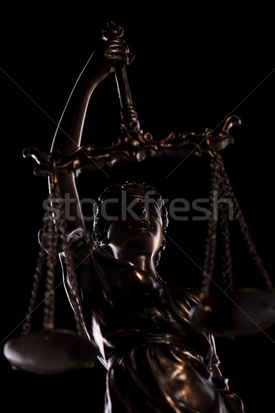 portrait of justice goddess holding her scale  Stock photo © feedough