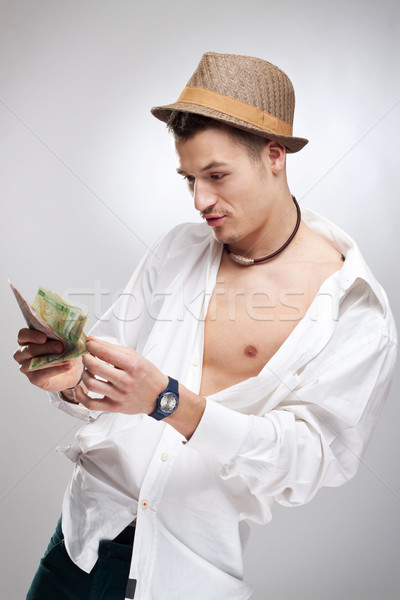 Stock photo: money ain't the thing