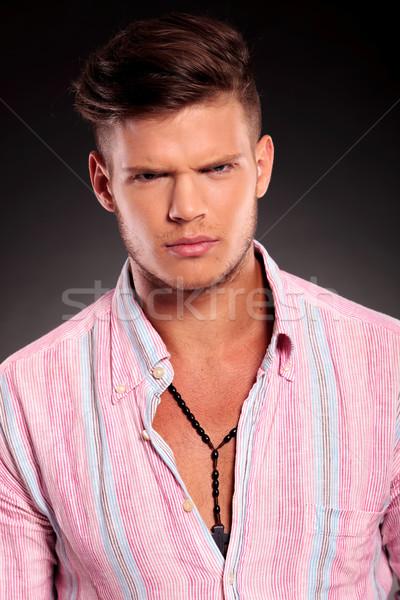 angry young man Stock photo © feedough