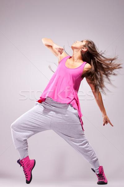 Сток-фото: танцовщицы · позируют · полный · энергии · Dance