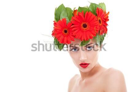 венок Солнцезащитные очки кубинский красивой Сток-фото © feedough
