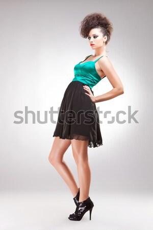 Moda modello arco cute donna Foto d'archivio © feedough