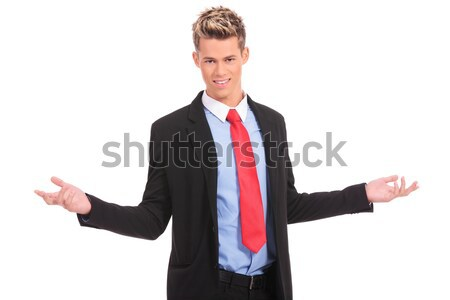 business man with open arms  Stock photo © feedough