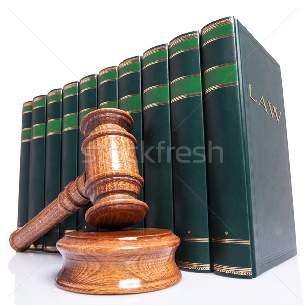 Judges gavel and law books  Stock photo © feedough