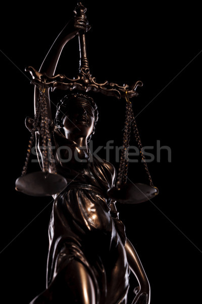 the blind goddess of justice  Stock photo © feedough