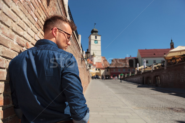 casual man in Sibiu Stock photo © feedough