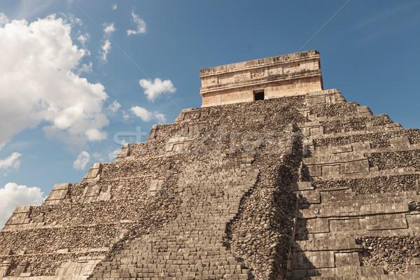 pyramid in Tulum, Mexico. Stock photo © feedough