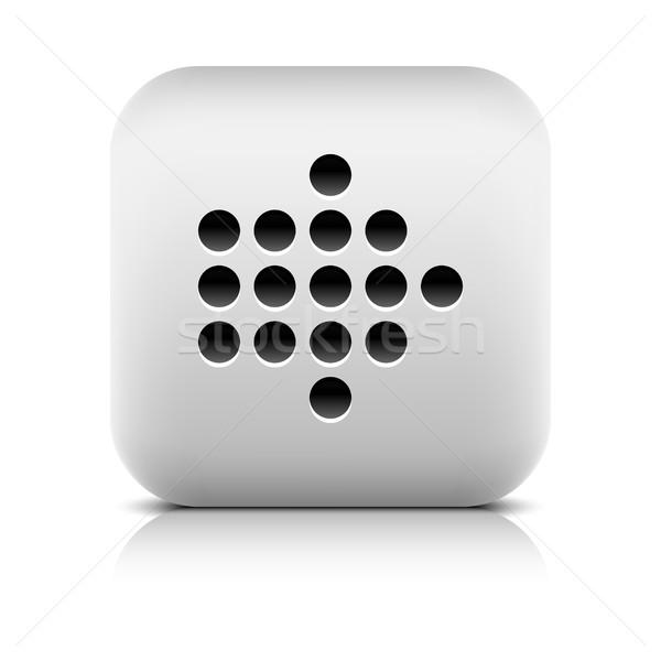 ウェブのアイコン デジタル 石 スタイル 広場 ストックフォト © feelisgood