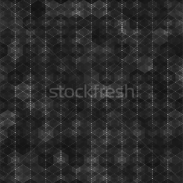 Seamless pattern with hexagon shapes Stock photo © feelisgood